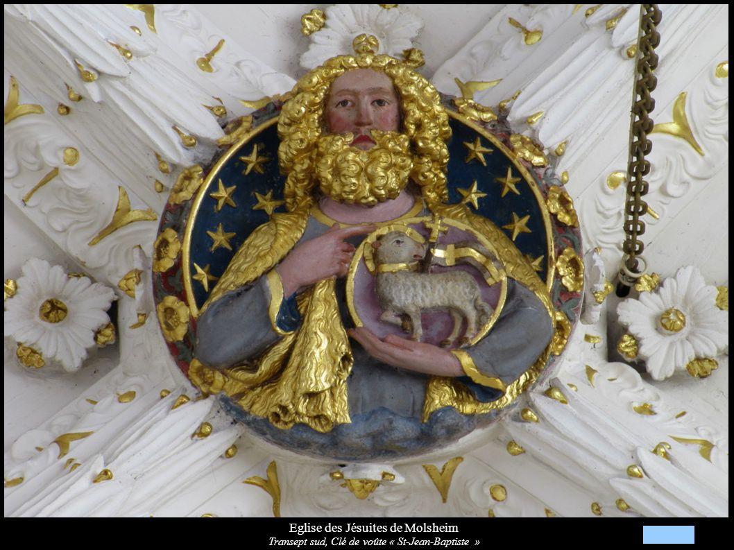 Eglise des Jésuites de Molsheim Transept sud, Fresques « Vie de Jésus »