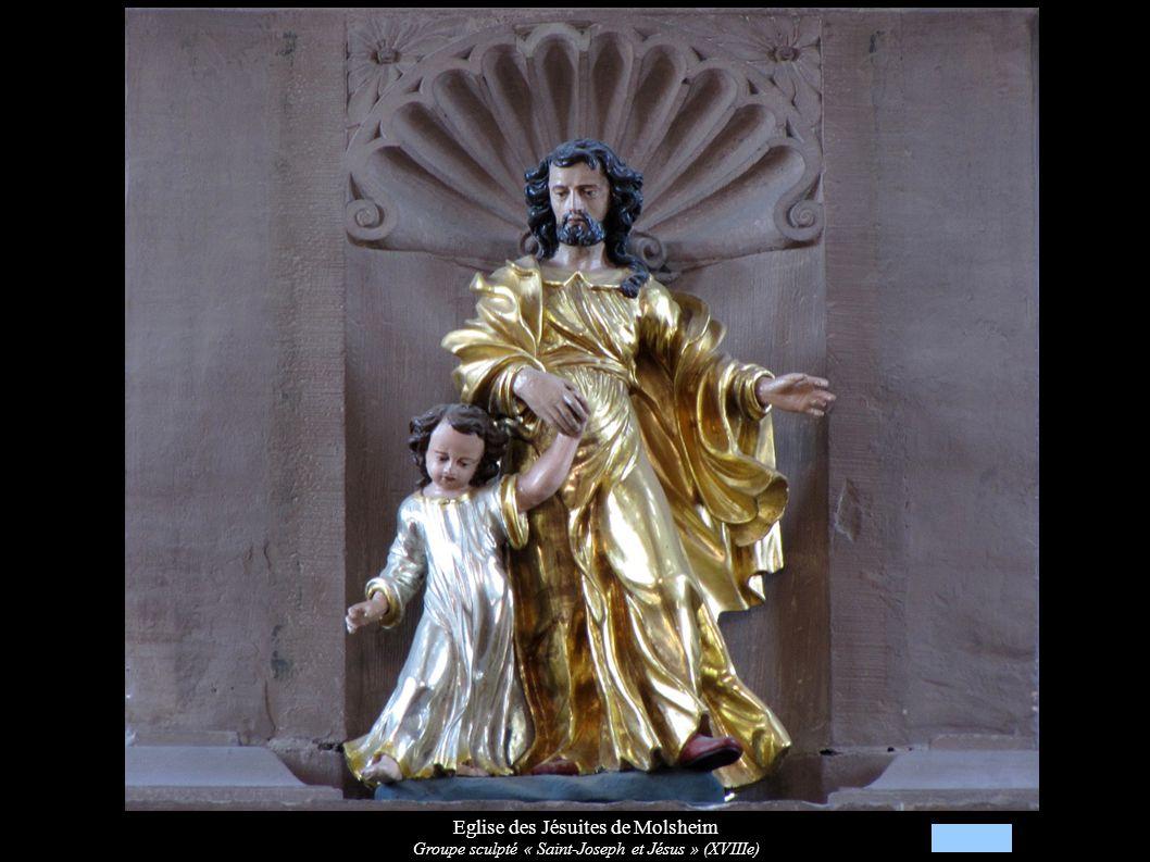 Eglise des Jésuites de Molsheim Statue de procession « Vierge à l Enfant » (XVIIIe)