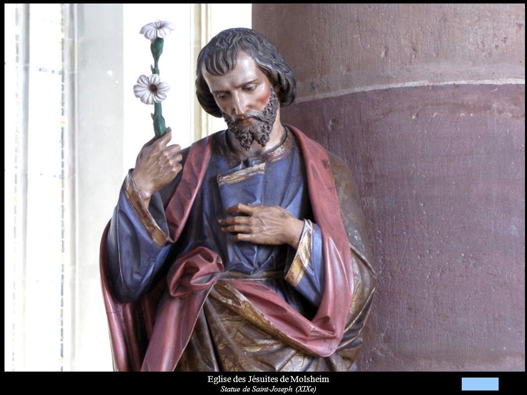 Eglise des Jésuites de Molsheim Statue de la Vierge (XIXe)