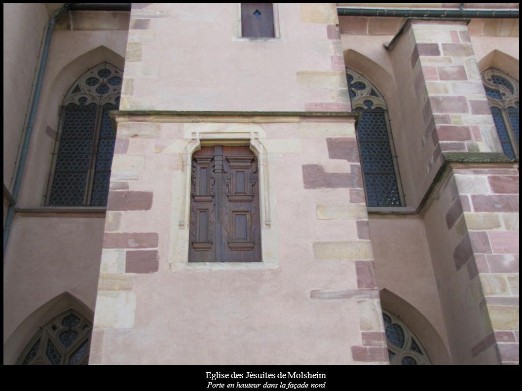 Eglise des Jésuites de Molsheim Portail d entrée principale