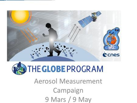 Aerosol Measurement Campaign 9 Mars / 9 May. Introduction The main objective is to inspire teachers and students to bring their local project to an international.
