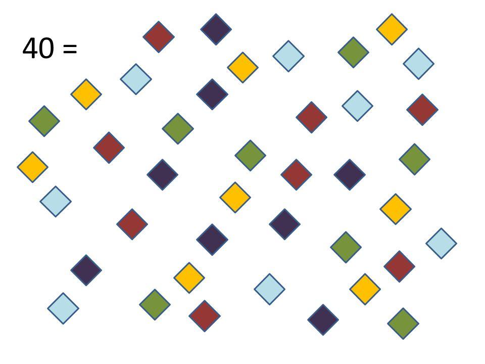 A partir de maintenant, les formes auront toutes la même couleur.