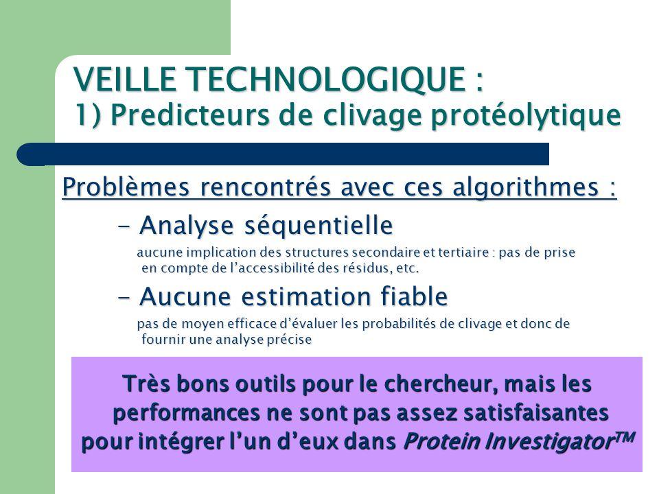VEILLE TECHNOLOGIQUE : 2) Algorithme Tango - Algorithme de prédiction de zones d'agrégation (feuillet β, coude β, hélice α, agrégation β) (feuillet β, coude β, hélice α, agrégation β) - Format d'entrée : FASTA - Plusieurs paramètres pris en compte (pH, T, force ionique, [TFE], stabilité de la protéine, protection (pH, T, force ionique, [TFE], stabilité de la protéine, protection des C/N terminaux) des C/N terminaux)