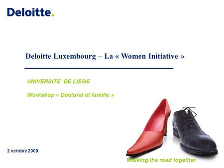 Deloitte Luxembourg – La « Women Initiative »