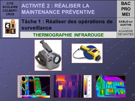 CITE SCOLAIRE COLBERT-CROS THERMOGRAPHIE INFRAROUGE