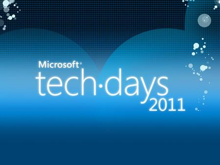 2 Tirez profit de Windows 7 dans son application 08 février 2011 Sacha Leroux Microsoft Regional Director Bewise.