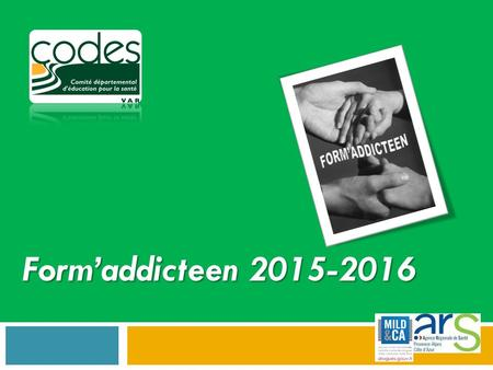 Form'addicteen 2015-2016.