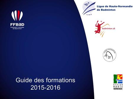 Guide des formations 2015-2016.