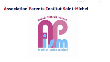 Association Parents Institut Saint-Michel