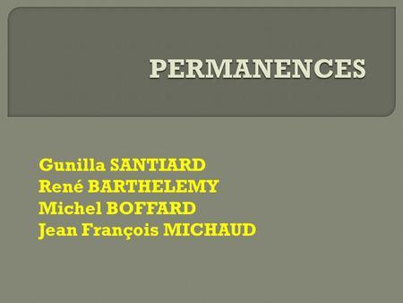 Gunilla santiard ren barth l my jean fran ois michaud ppt t l charger - Bureau distributeur cpam ...