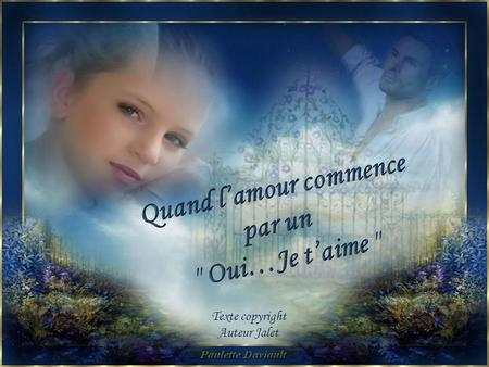 Quand l'amour commence