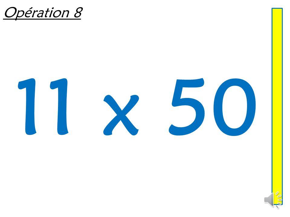 Opération 8 11 x 50