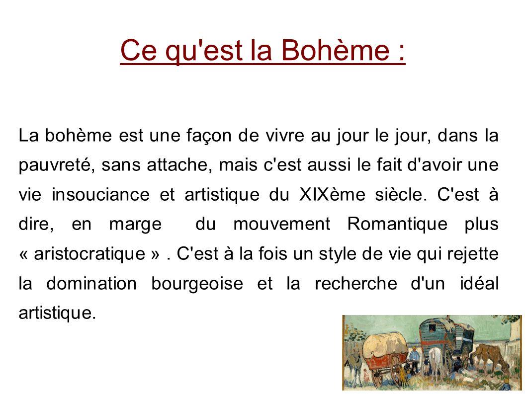Si l expression a connu un certain déclin à partir des années 1960 et des Trente Glorieuses, l expression « Bourgeois bohème » ou « Bobo », lui donne un certain regain.