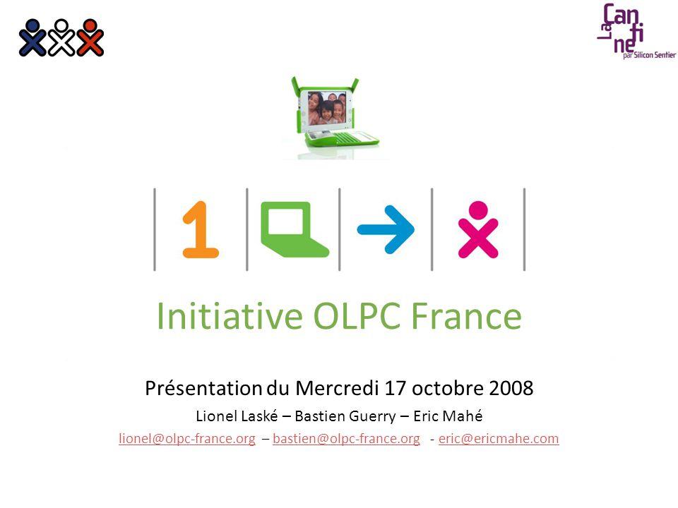 04/09/2014© OLPC France 2008 > Présentation OLPC2 « J'ai commencé à travailler sur le XO après que beaucoup de gens m'aient dit que la machine n'était pas réalisable.
