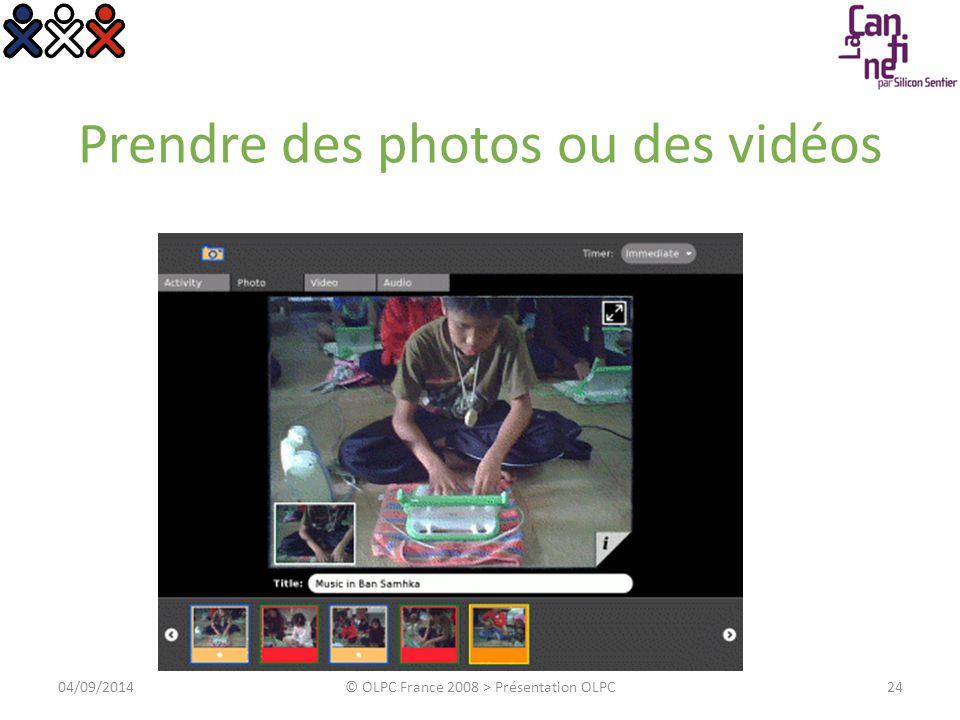 Composer de la musique 04/09/2014© OLPC France 2008 > Présentation OLPC25