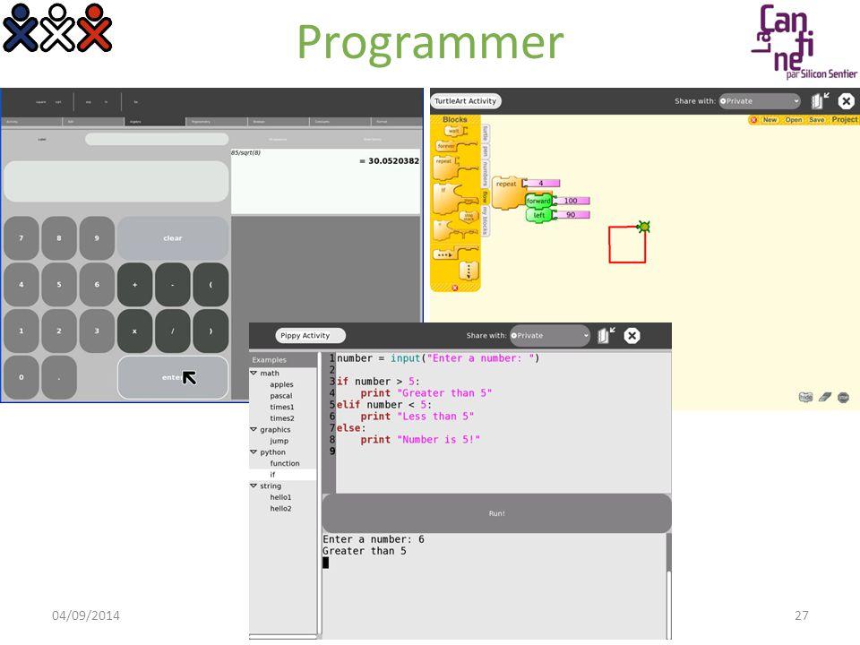 Partager Toutes les activités peuvent fonctionner à plusieurs 04/09/2014© OLPC France 2008 > Présentation OLPC28