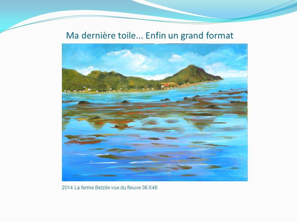 MERCI DE VOTRE ATTENTION et BONNE FIN DE COLLOQUE Diane Hudon, artiste-peintre