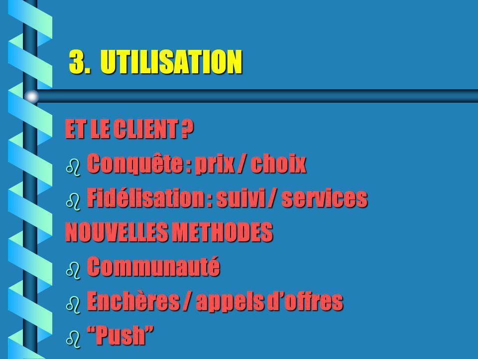3.UTILISATION C.