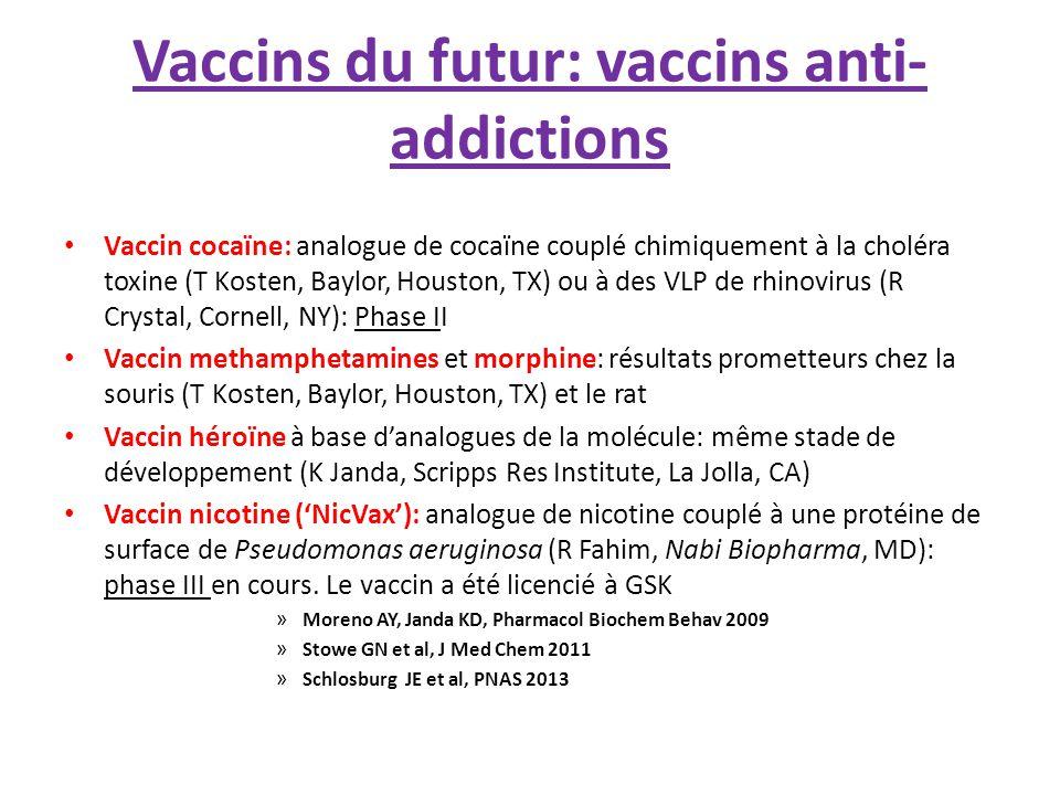 Difficultés La mise au point de nouveaux vaccins est aujourd'hui une entreprise très longue, très difficile et extrêmement coûteuse: Recherche du « risque zéro » et principe de précaution → Réglementations terriblement contraignantes.