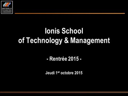 Ionis School of Technology & Management