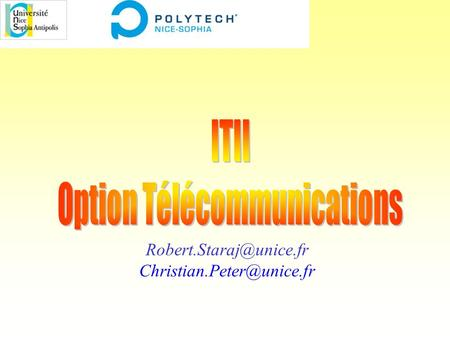 Option Télécommunications