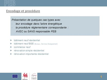 Formation Responsable PEB
