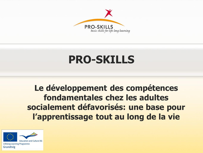 Contexte: Pourquoi Pro-Skills ?