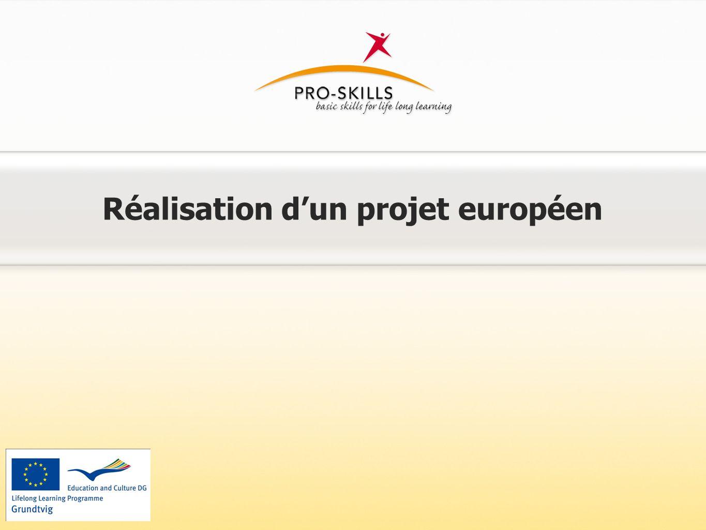 Structure du projet Projet 1: Conception d'un programme de formation destiné au groupe cibl des personnes socialement défavorisées.
