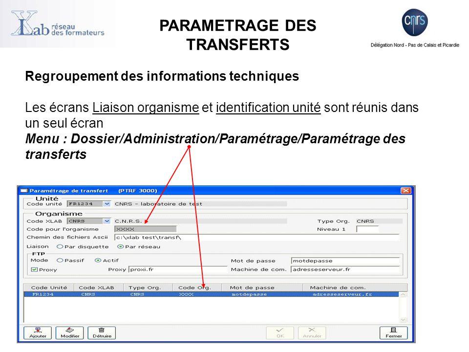 Sélectionner des commandes, factures, missions agents et services faits à consulter lors de l'extraction en cours.
