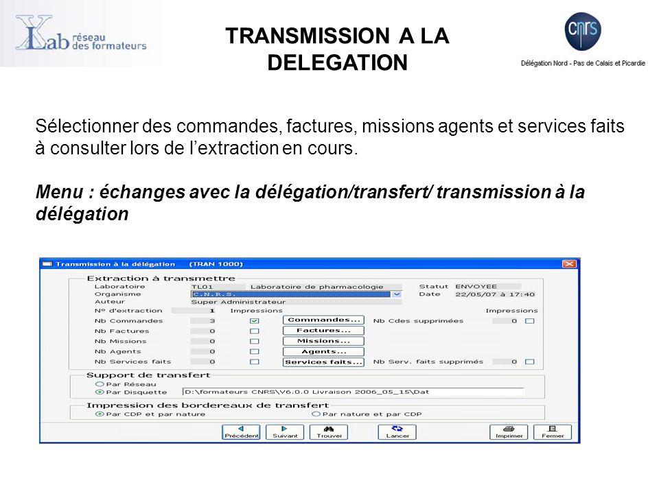  Les fichiers transférés (entrée/sortie) d'Xlab ont un format identique quelque soit la plate-forme utilisée pour les échanges  Les lignes détail des commandes, des services faits et des factures, les données fournisseurs sont dans les fichiers de transfert  Par défaut on les trouvent dans le répertoire contenant la base xlab ..\dataxlab\transf\  Les fichiers sont du type a-xlabo.abcxyz arrivée dans Xlab (intégrations) d-xlabo.xyzabc départ de xlab (extractions) FICHIERS TRANSFERES