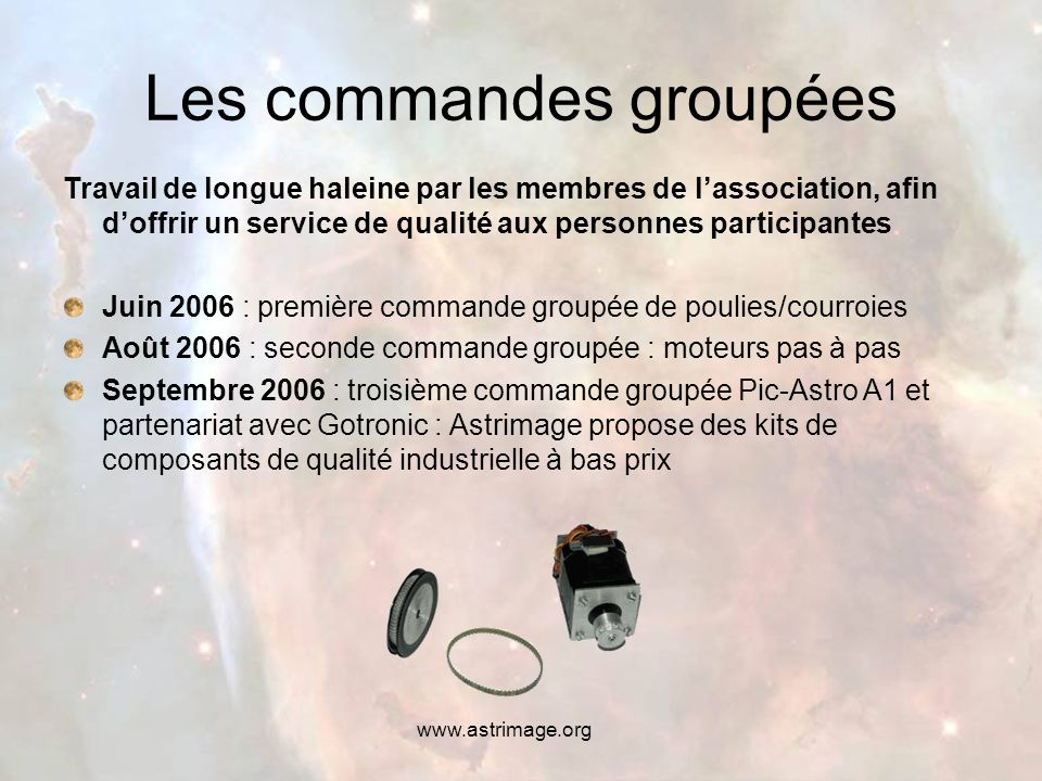 www.astrimage.org Notre site web