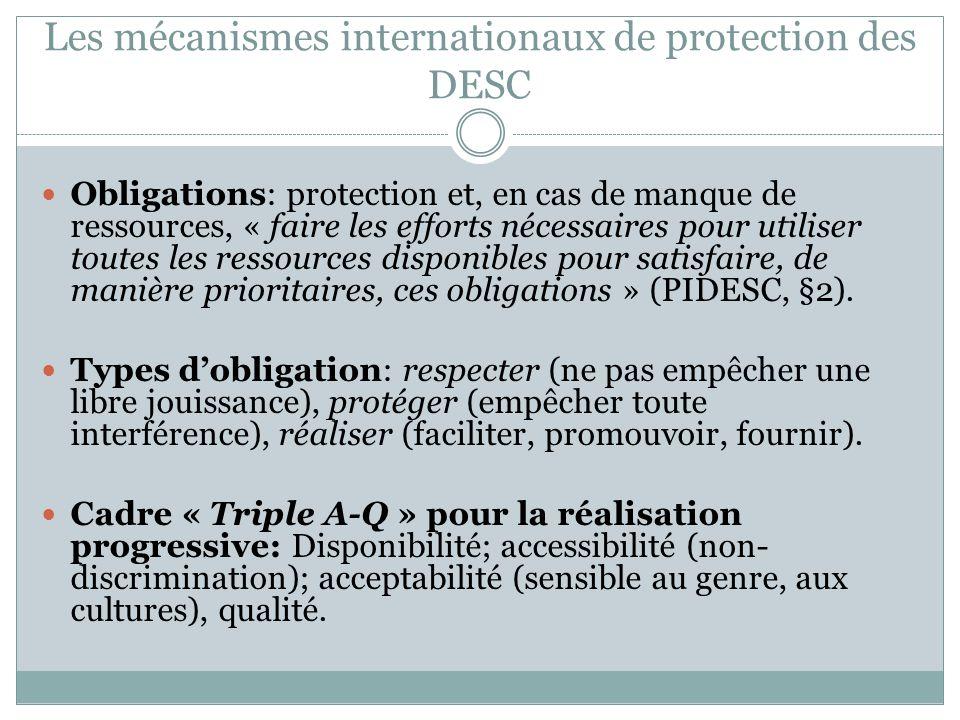 Vers une intégration progressive des DESC au DIP.Statut de Rome de la CPI, art.