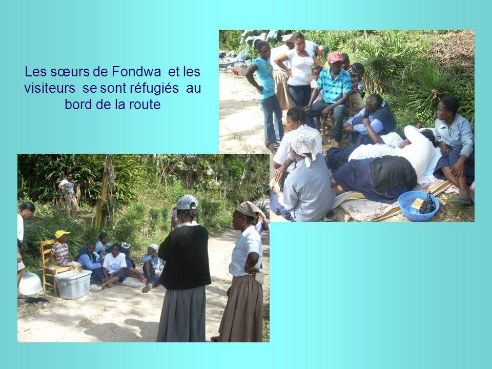Les sœurs de Fondwa résident dans une pépinière