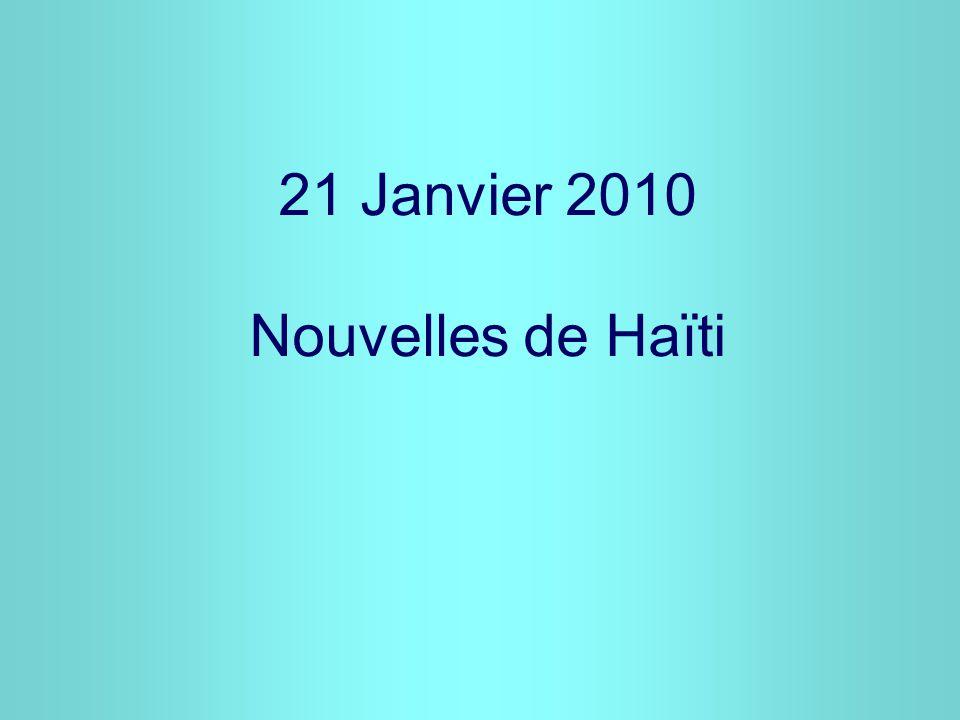 « Des gens sont morts, les cœurs et toutes choses sont brisés dans la région de Fondwa Léogâne en Haïti » Fr Joseph Philippe