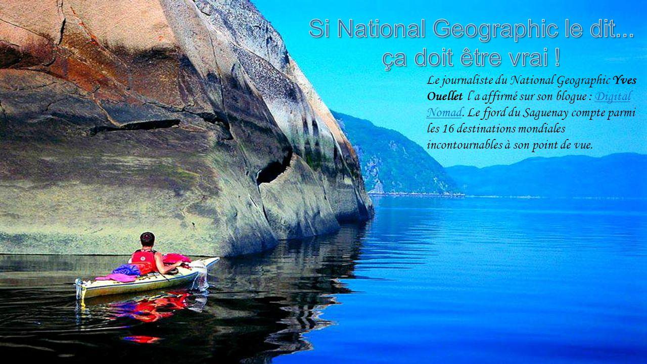 Le journaliste du National Geographic Yves Ouellet l'a affirmé sur son blogue : Digital Nomad.