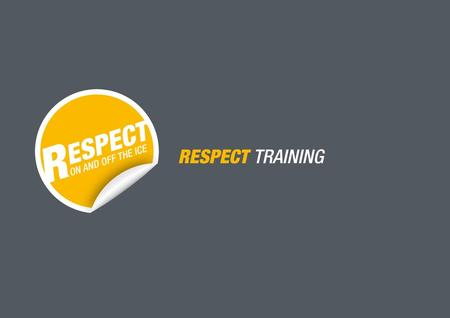 © by SWISS ICE HOCKEY - Team Development – 2014 RESPECT TRAINING MOULIN DE CHECKPICCOLOS Organisation / remarque :  Placer les joueurs à l'hauteur de.