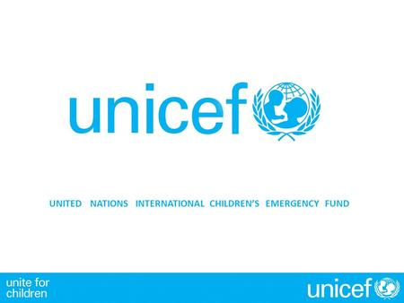 UNITED NATIONSINTERNATIONAL CHILDREN'S EMERGENCYFUND.