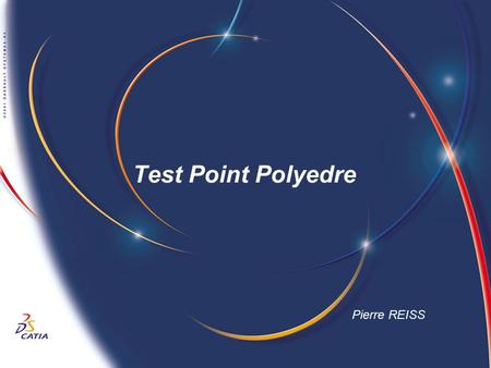 Test Point Polyedre Pierre REISS