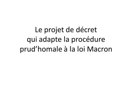 décret ordonnance macron