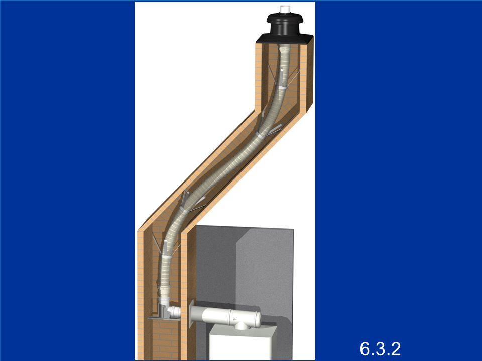 15 Conduits d évacuation synthétiques Troisième situation autorisée : conduit d évacuation synthétique dans une chaufferie Lorsque le conduit d évacuation synthétique est placé dans une chaufferie (NBN B61-001), ce conduit synthétique et le collecteur éventuel ne doivent pas être protégés.