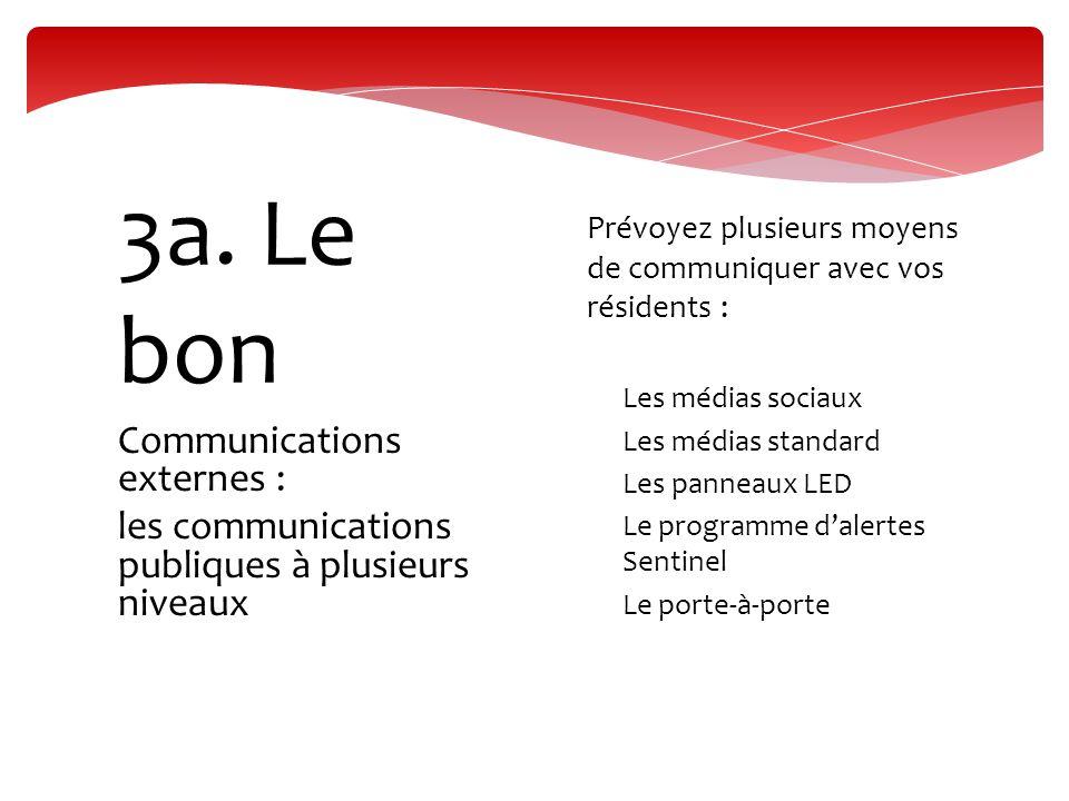 Communications externes : travailler avec vos médias 3b.
