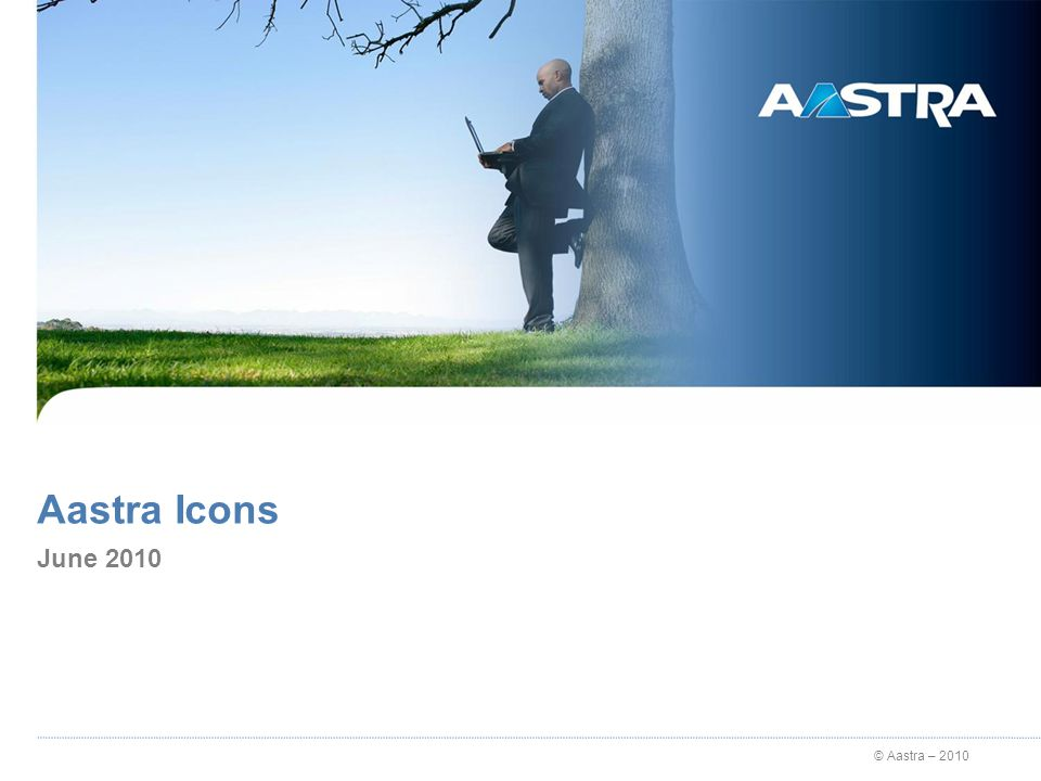 © Aastra – 2010 Rules 4 different categories: Items, People, Places, Symbols and soon Aastra solutions.