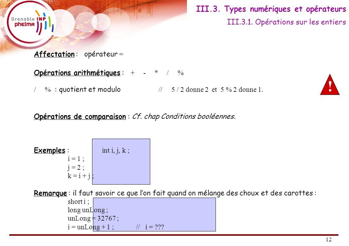 13 Tout langage de programmation permet de manipuler des variables réelles.