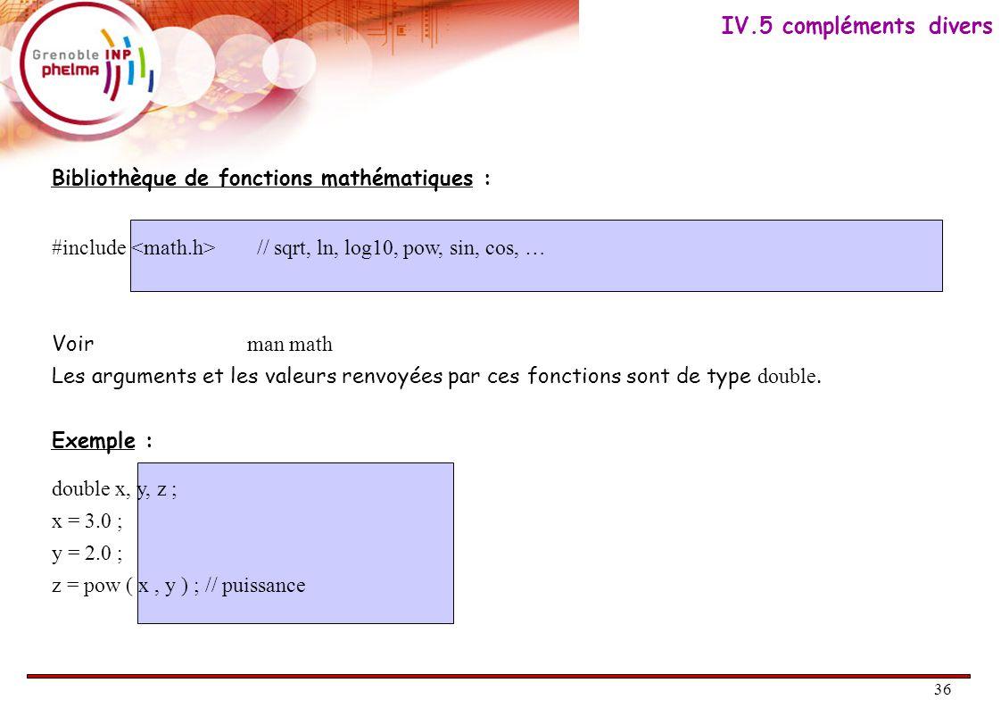 37 V.Structures de contrôles V.1. Introduction V.2.
