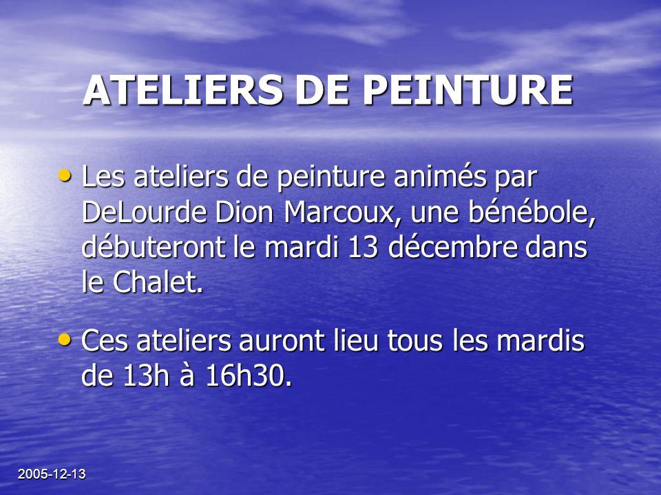 2005-12-13 AQUAFORME Aquaforme, sept jours semaine de 9h à 10h dans la petite piscine.