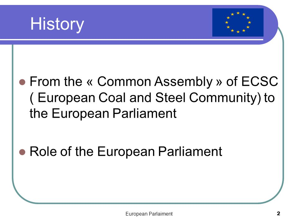European Parlaiment3 SEATS STRASBOURG Immeuble Louise Weiss BRUSSELS Espace Léopold LUXEMBOURG