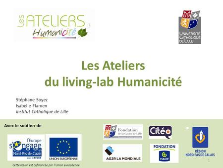 du living-lab Humanicité