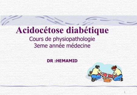 Acidocétose diabétique
