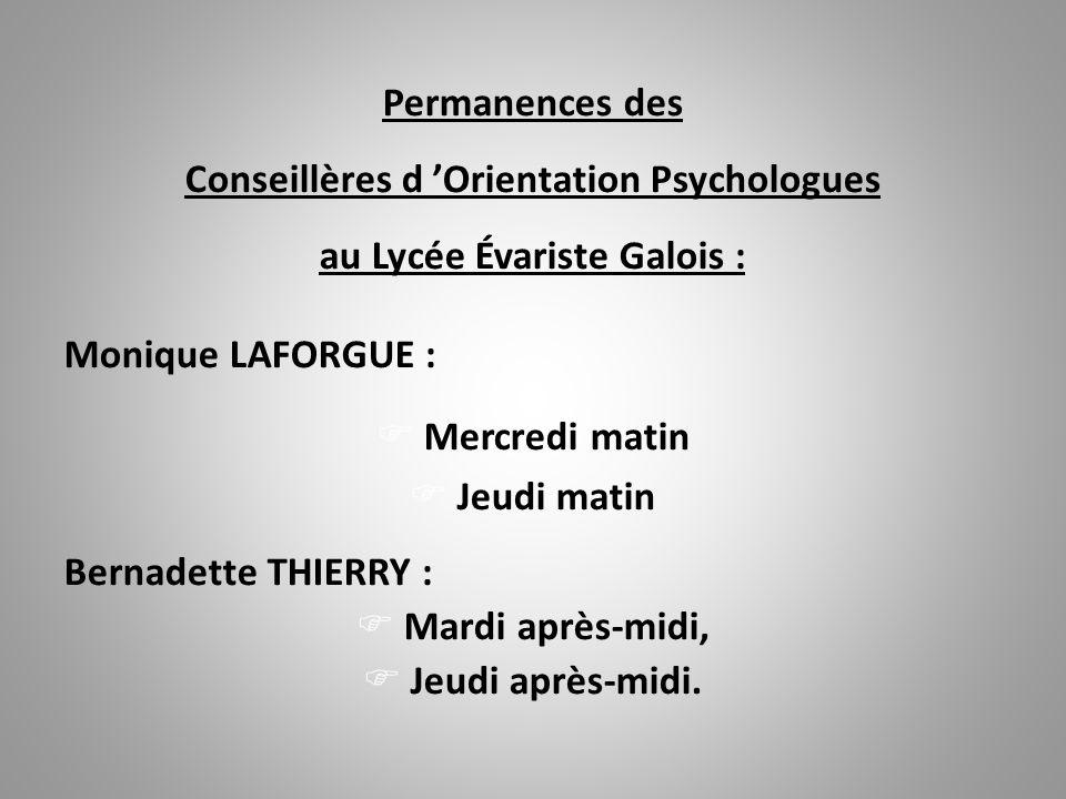 Le Centre d 'Information et d 'Orientation 64, avenue Carnot 78500 - SARTROUVILLE  : 01.61.04.41.60 est ouvert du de 9h00 à 12h00 et de 13h30 à 17h00 et le samedi matin de 9h00 à 12h00.