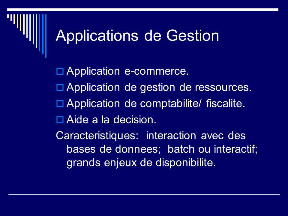 Applications scientifiques/ de Genie. Simulation de phenomenes naturels.